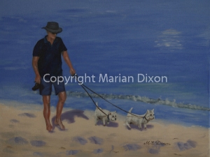 Donna & Darcy on Kwinana Beach